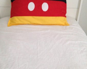 Mickey Mouse inspired sham