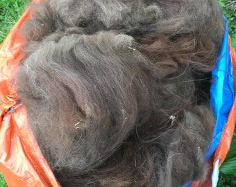 Llama fleece unwashed