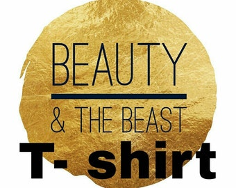 Beauty and the Beast Inspired T-shirt