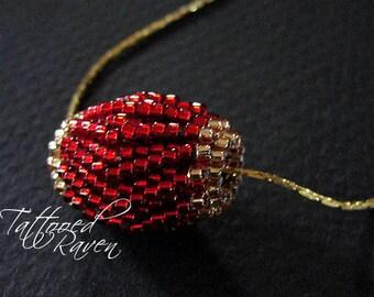 Petite Cherry Beaded Blooming Bead