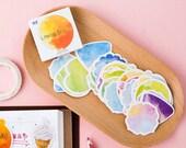 Watercolor Dream Planner Stickers - Decorative Paper Sticker-Sticker Set