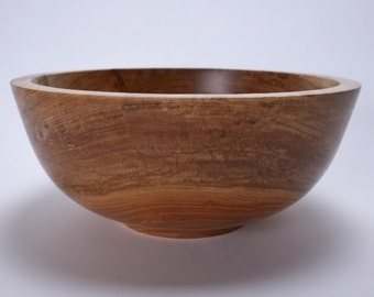 "Sycamore Wooden Salad Bowl #1525 10 7/8"" X 4 1/2"""
