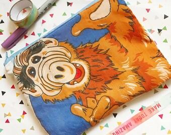 Alf show pencil case cosmetic bag by Felices Happy Designs