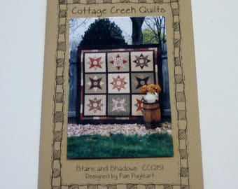 Cottage Creek Quilts: Stars and Shadows (New Quilt Pattern)