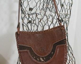 Animal Exotic Pigskin Shoulder Bag