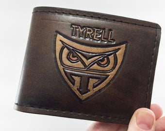 Blade Runner - Tyrell Corporation Hand Tooled Leather Wallet