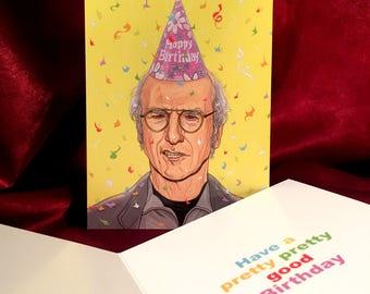 LARRY DAVID Birthday Card!