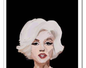 Marilyn Monroe-Pop Art Print