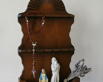 Vintage Spoon Rack, Spoon Display, Storage, Jewelry Holder, Wall Decor