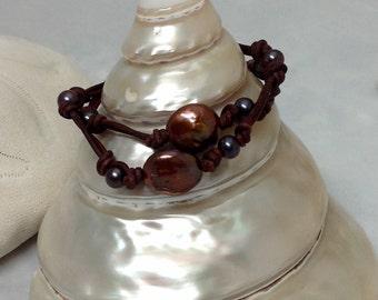 CHOCOLATE TIDAL WAVE Bracelet