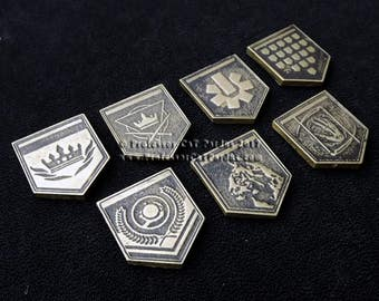 Destiny Elite Medals. Cold cast in brass so you can show off your accomplishments.