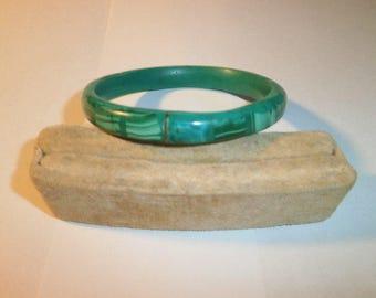 Vintage Bracelet, Genuine Malikite, Bango Bracelet
