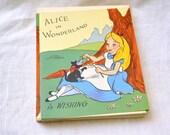 1950s NOS Walt Disney Alice in Wonderland Birthday Card with Envelope