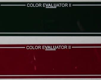 Color Evaluator II