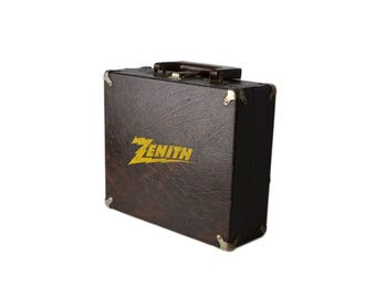 Zenith Leather Case Suitcase Padded Case