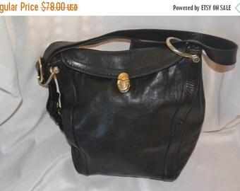 Spring Clearence Marino Orlandi Bag~Marino Orlandi  Shoulder Bag~ Black Leather Bag Italian Made