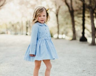 Peplum Easter Jacket in Blue