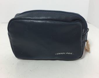 Vintage Pan Am Airlines Hand Pouch