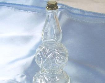 ON SALE Vintage Perfume Bottle Colone After Shave Barber Vanity