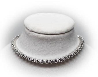Sterling Silver Swarovski Crystal Tennis Bracelet