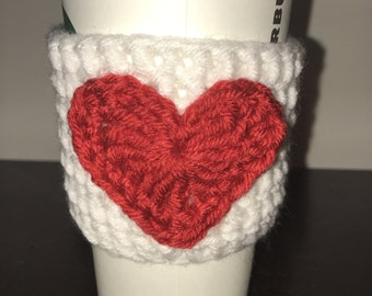 Coffee cup Coozie - Valentine's