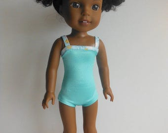 Wellie Wisher Clothes; Swimsuit fits American Girl Wellie Wisher