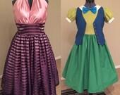 Mother & Daughter Dapper Disneybound Dresses