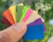 FF12 Miniature File Folders; 1:12 Scale Kit