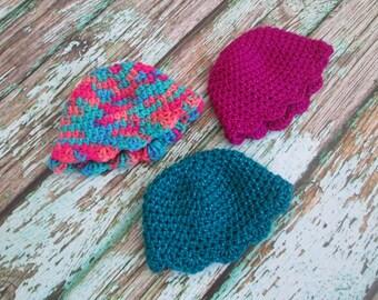 Newborn Photo Prop, Crochet Baby Hat, Baby Hat, Newborn Baby Hat, Newborn Beanie
