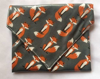 Gray Fox Snackaby reusable dishwasher-safe snack sandwich wrap