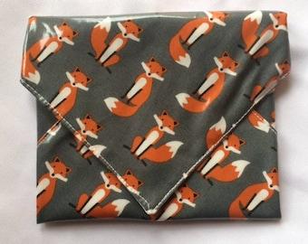 Gray Fox Snackaby reusable dishwasher-safe snack sandwich wrap