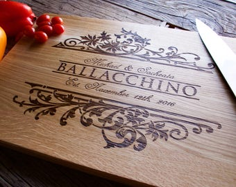 Personalized Cutting Board, 12x15, Engraved Cutting Board, Personalized Wedding Gift, Wedding Gift, Housewarming Gift, Anniversary Gift