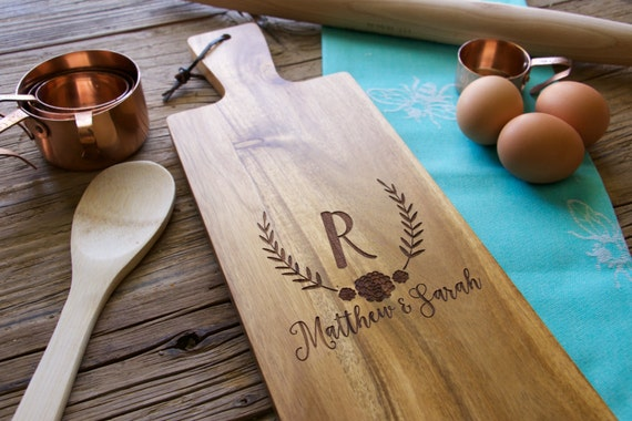 Engraved Cutting Board, Cutting Board, Personalized Cutting Board, Personalized Wedding Gift, Wedding Gift, Christmas Gift