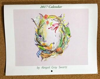 Through the Seasons, 12 month 2017 Calendar