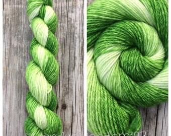 Gradient Yarn, Hand Dyed Yarn, Aran Weight,  Knitting Yarn, Dyed Yarn, 181 yards