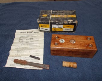 wood working ((( wood screw and tap )))