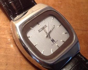 Vintage Mens Allwyn 17 Jewels Mechanical Watch