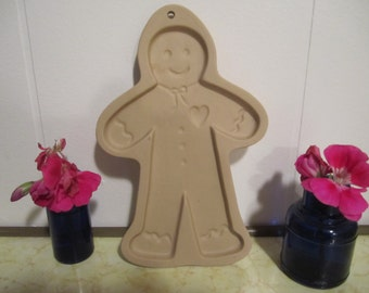 Brown Bag Art Gingerbread Cookie Mold 1992