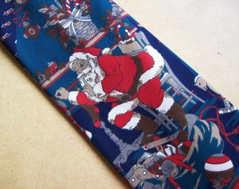 Christmas - mens christmas neckties, holiday ties, free shipping in Canada and the United States