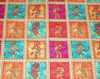 Southwest Fabric, By The Yard, Aztec Fabric, Quilting Fabric, Sewing Crafting Fabric, Novelty Fabric, Indian Fabric