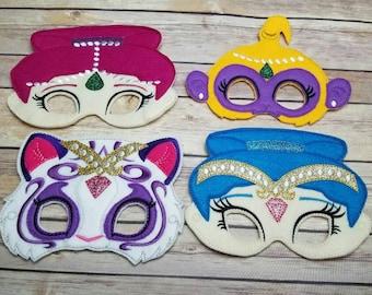 Shimmer and shine  mask set
