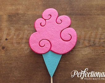 Cotton Candy Photo-Booth Prop | Pink Cotton Candy Prop | Carnival Props