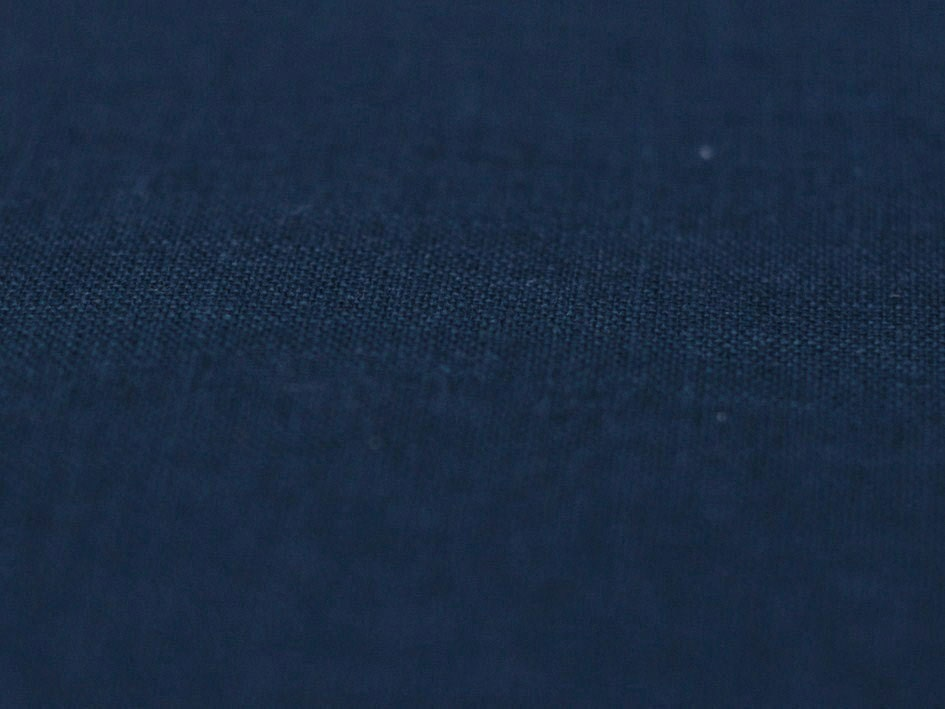 Indigo Linen Fabric Pure Linen Fabric Softened And Pre Shrunk