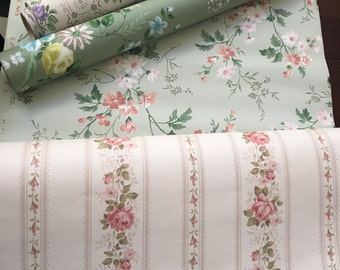 Stunning Vintage Collection of Floral Wallpaper