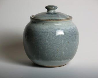 Blue cookie jar