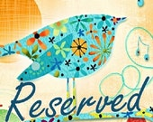 Reserved 4 Yards Anthropomorphic SNAPPY SNACKS Blue Nicole's Prints Alexander Henry Food Pizza French Fries Pickles Kitchen Quilting Sewing