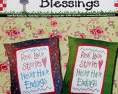 50%OFF Count Your Blessings REAL LOVE Stories - Counted Cross Stitch Pattern