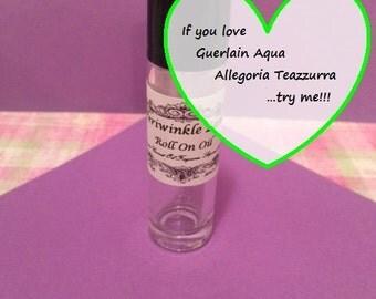 Guerlain Aqua Allegoria Teazzurra type Roll on Oil