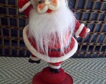 Vintage Santa Musical Figurine