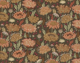 """Vintage Liberty Tana Lawn fabric MOHOLY - 17"""" wide x 13"""" (43cm x 33cm) - 1990s"""
